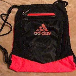 Adidas Bag Black & Infrared